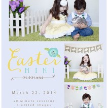 Easter Mini Sessions 2014