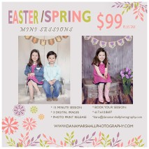 Easter and Spring Mini Session